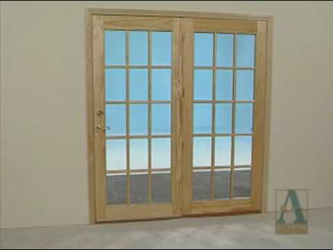How to finish paint and stain patio doors youtube planetlyrics Images