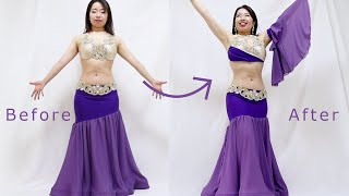 3 Steps to Turning Your Belly Dance Costume Professional!