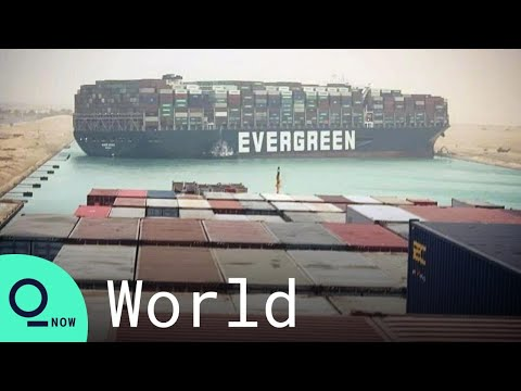Suez Canal: Ship That Ran Aground Has Been Moved to Bank of Waterway