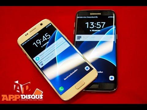 พรีวิว Samsung Galaxy S7 และ Galaxy S7 Edge เครื่องจริงจากงานเปิดตัว