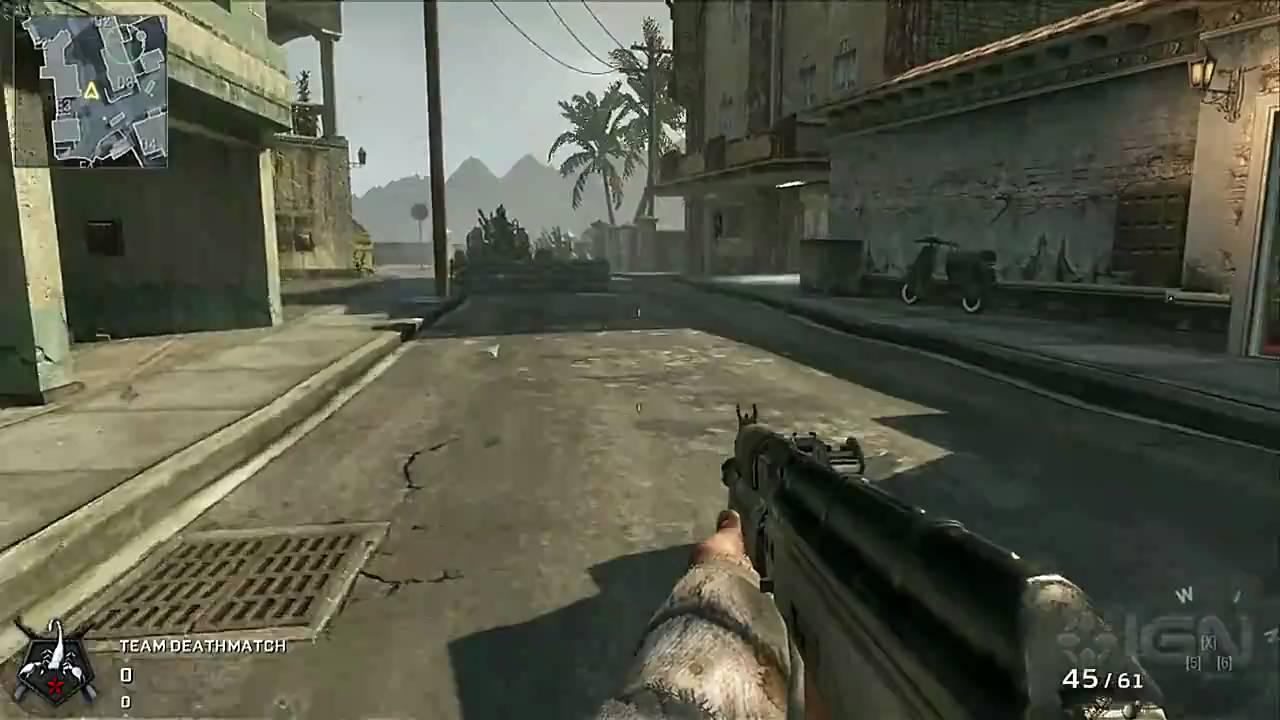 Call of Duty: Black Ops: Map Walkthrough - Havana - YouTube