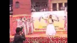 Indian Cultural Dance Indian Traditional Dance (Govt. School Nithari)