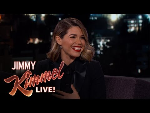 America Ferrera is Very Competitive