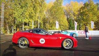 Chevrolet Corvette ZR1 vs Ferrari 599 GTO vs Nissan GT-R