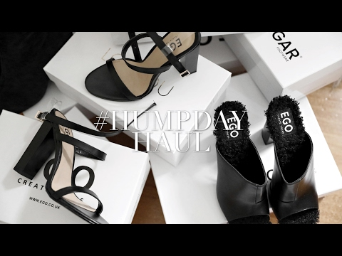 SHOE HAUL // #HUMPDAYHAUL // FT. JAGGAR, EGO OFFICIAL, CONVERSE & LOU LOU THE BRAND