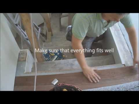 How to Connect Hardwood Floor with Staircase Top Stair Nosing Installation Tips Mryoucandoityourself