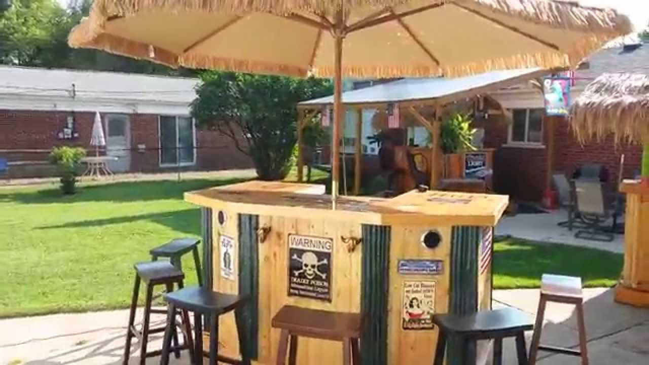 tiki bar large country style youtube
