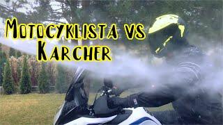 Nieprzemakalna kurtka motocyklowa Rukka vs Myjka ciśnieniowa. Kto wygra?   Jednoślad.pl