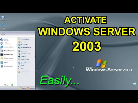 How To Activate Windows Server 2003 R2 SE SP2