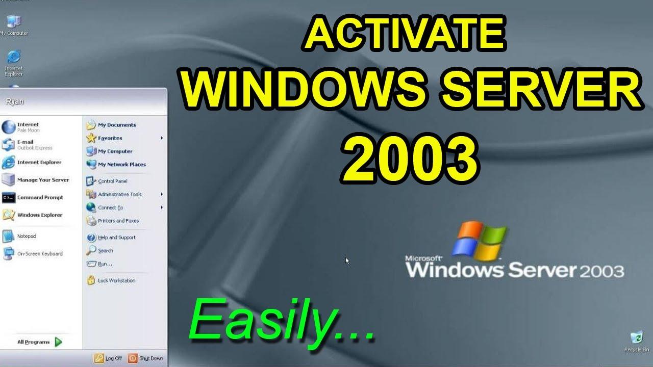 How to activate Windows Server 2000 R200 SE SP200 > BENISNOUS
