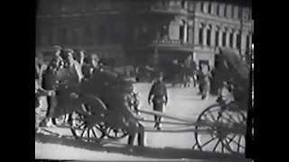 Кинохроника 1922 г. Показ фильмов и фото на Страстной (Пушкинской) площади