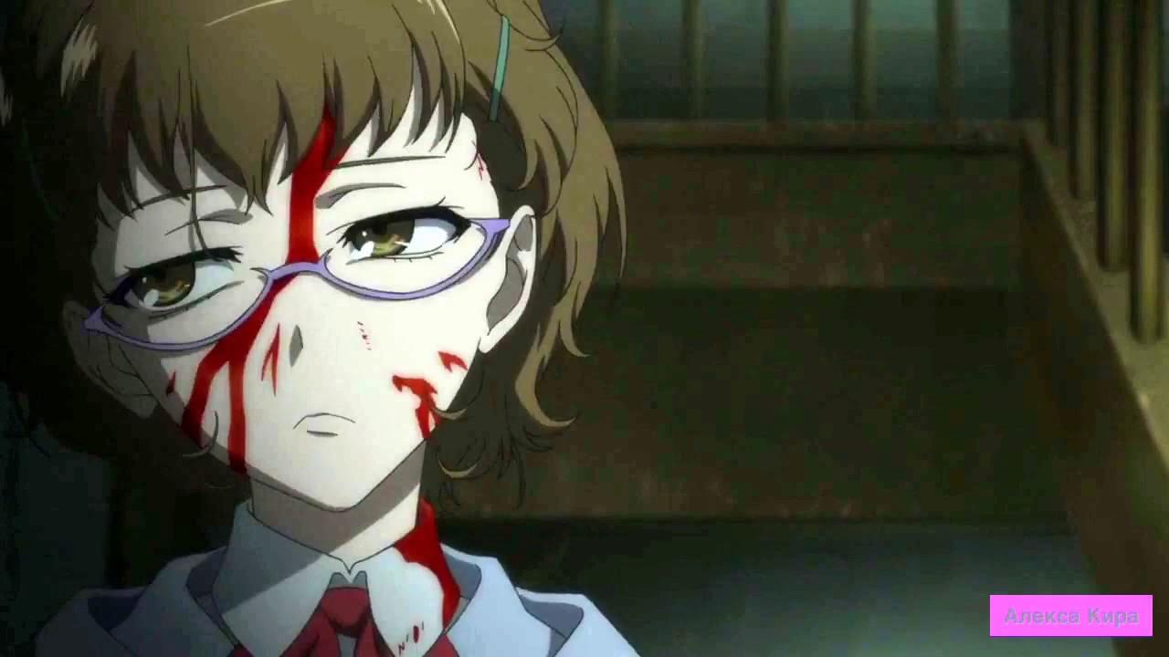 Кровавый аниме клип. Вены резали сами АМВ. Bloody anime clip. The veins cut themselves AMV