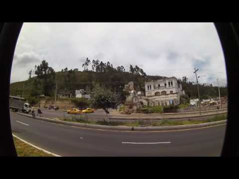 Attempt at a time-lapse of our ride to Otavalo market