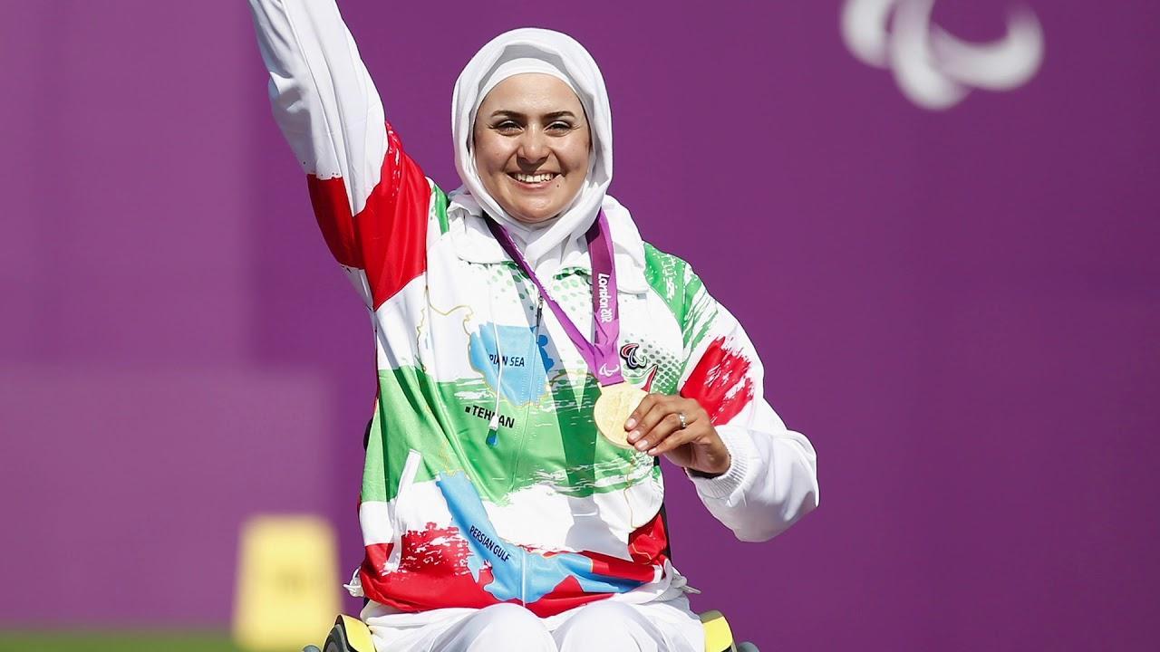 Zahra Nemati | Memorable Paralympic Moments - YouTube
