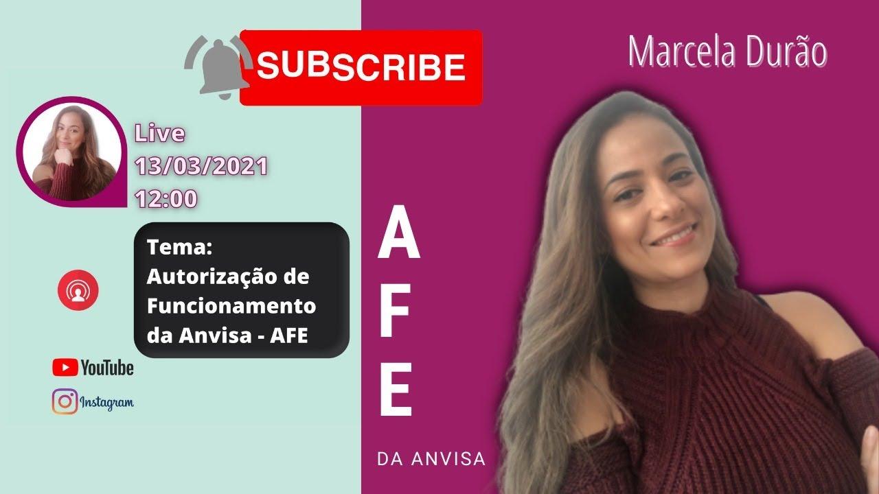 Autorização de Funcionamento - AFE Anvisa - YouTube
