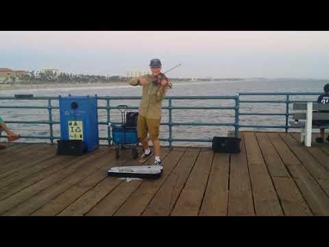 "Santa Monica Pier - ""California Dreamin"" Violin"