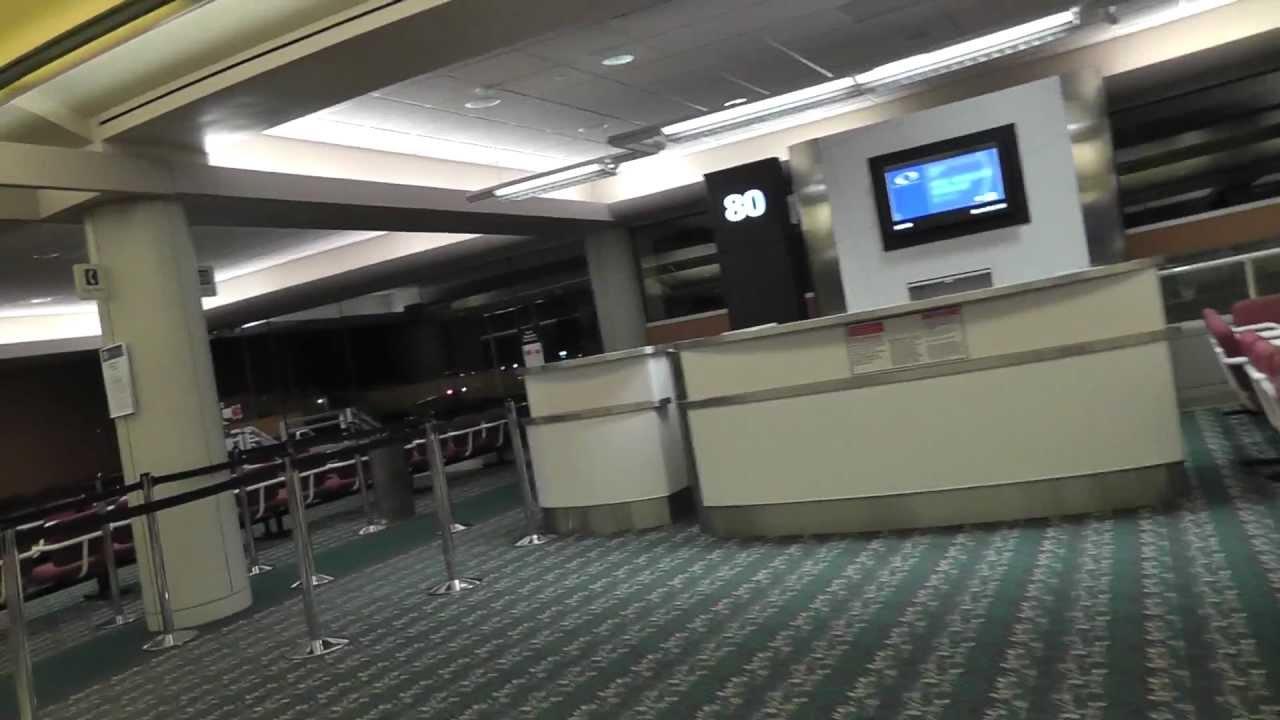 Orlando Int L Airport Airside 4 Gates 80 89