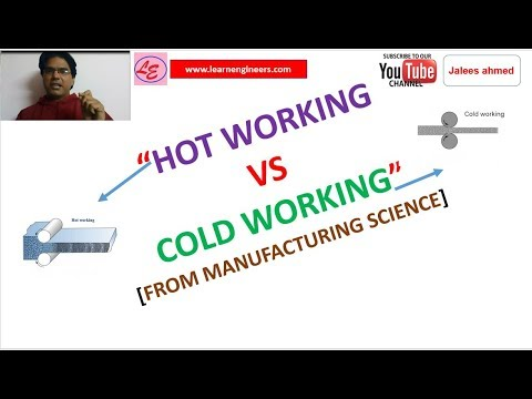Mech Dose #79-HOT WORKING VS COLD WORKING [MANUFACTURING SCIENCE]