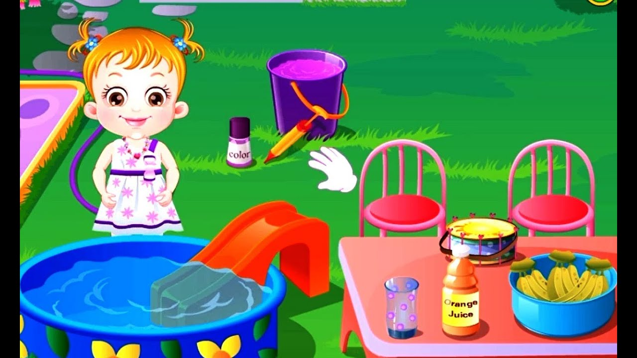 Kids Games Videos - Baby Hazel Backyard Party (HD) - YouTube