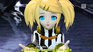 Kagamine Rin - Roshin yuukai -Meltdown- (sub español) HD