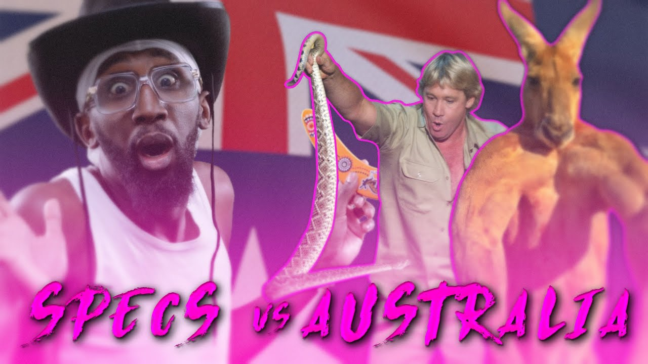 Download WHAT THE HELL IS A KANGAROO??!?!?!?!?!!?   SPECS VS AUSTRALIA FT. @Jordyinit