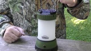 Best Mosquito Control for Deer Hunting - Thermacell Lantern