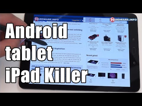 Samsung Galaxy Tab S3 high-end android tablet review - Hardware.Info TV (4K UHD)