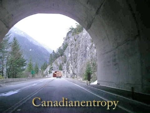 Trans-Canada Highway - Hope to Kamloops, Northbound - part 1 of 3 - time lapse
