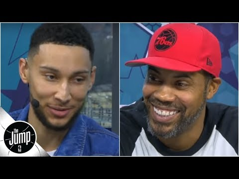 Ben Simmons and Philly native Rasheed Wallace talk 76ers' future, more | The Jump