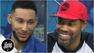 Ben Simmons and Philly native Rasheed Wallace talk 76ers