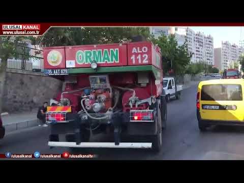 İzmir'de iki yangın