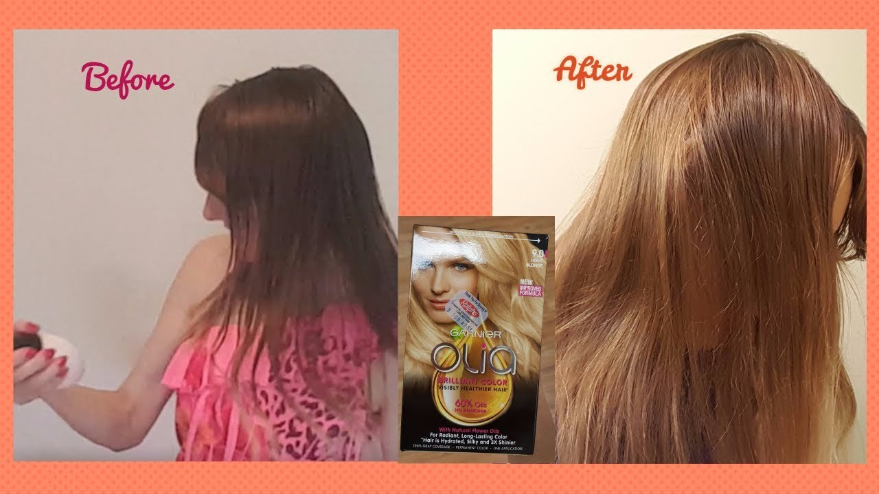 Garnier Olia Light Blonde Hair Color Review