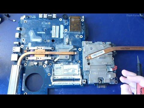 Random Teardown #009: Monstrous Toshiba X200 Multimedia Laptop