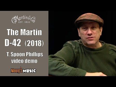The Martin D-42 (2018) at Maury's Music