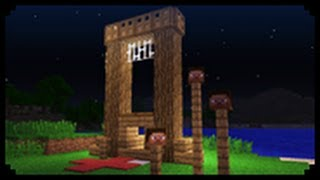 ✔ Minecraft: How to make a guillotine