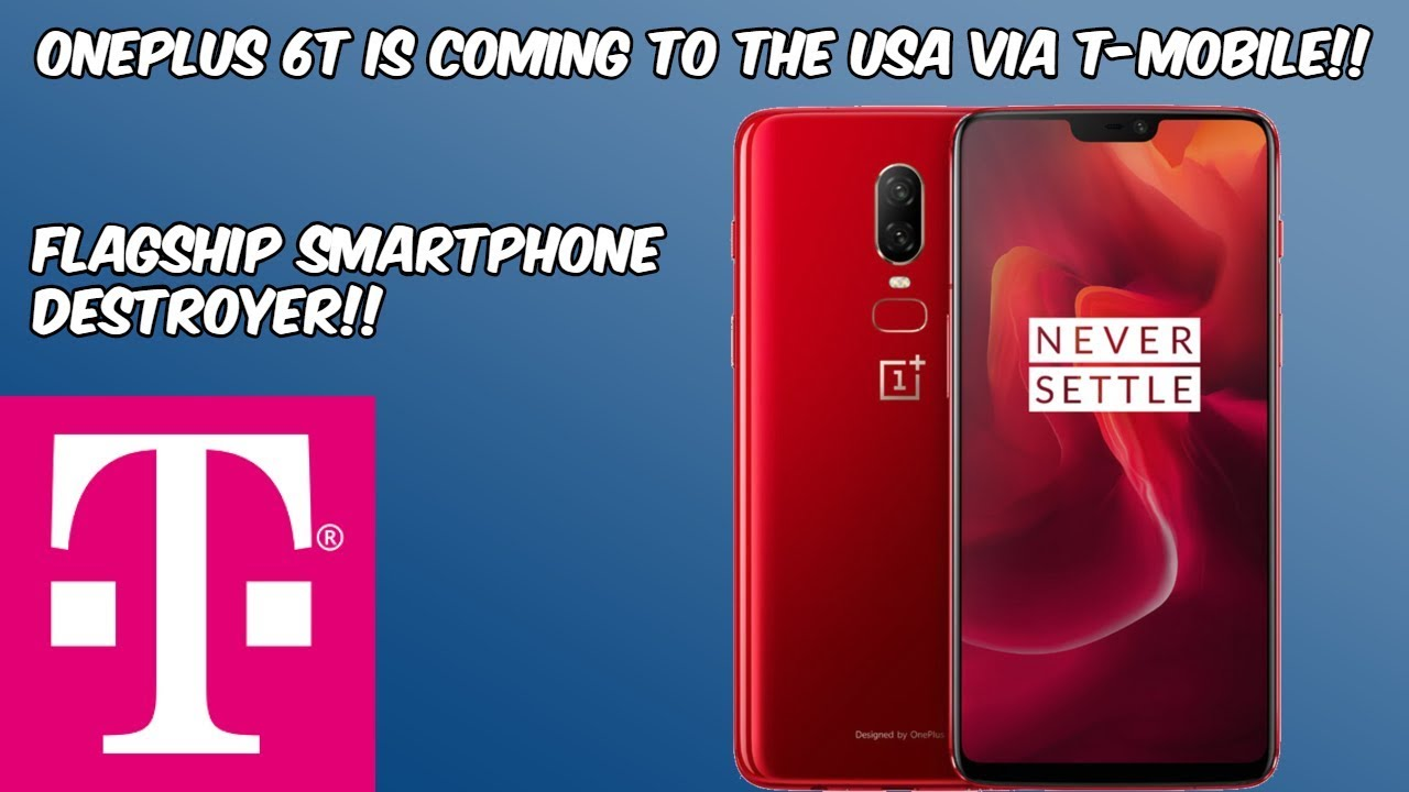 OnePlus 6T Coming to The USA Via T-Mobile (Can't Wait) HD