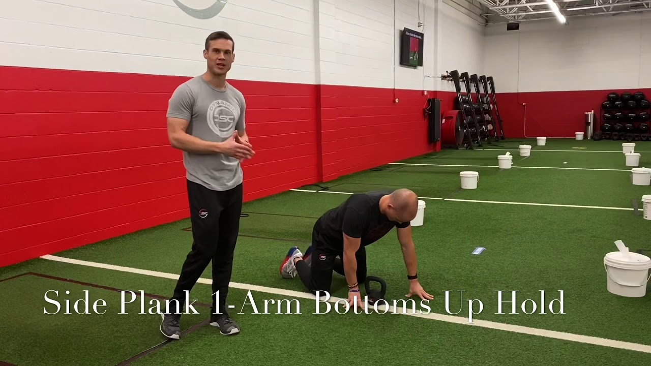 Side Plank Bottoms Up Hold
