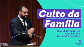 Identidade da Igreja. 1 Pedro 2 : 9,10 - Rev. André Carvalho