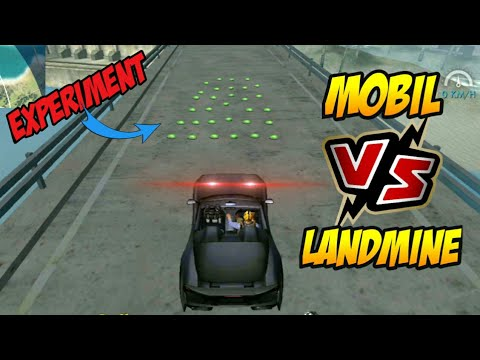 MOBIL VS LANDMINE - Experiment 1 | Garena Free Fire