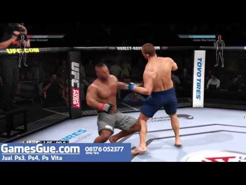 Review jual UFC PS4 Playstation 4 bahasa indonesia GAMESGUE.COM
