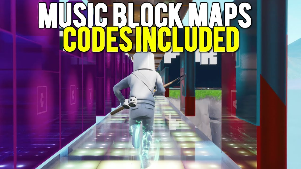 best music block map codes in fortnite creative - creative servers fortnite codes music