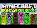 Minecraft CRAZY CREEPERS! (EPIC CREEPER MOD) - Minecraft Mods