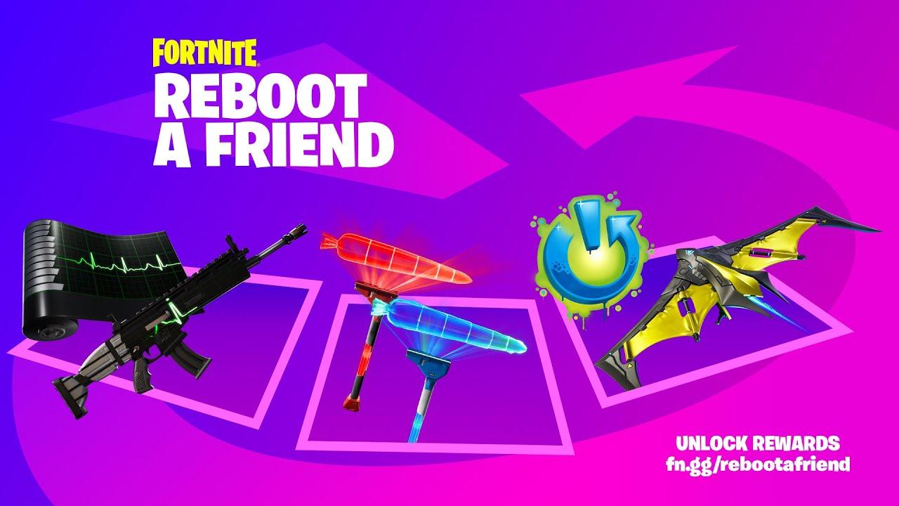 Reboot A Friend & Unlock Rewards!