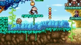 Game & Watch Gallery 4 [GBA] - Donkey Kong Jr. (Modern, A) játékmenet (gameplay)
