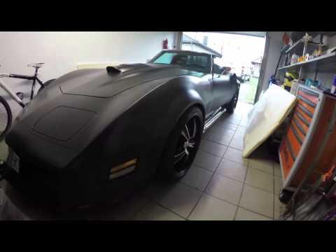 Corvette c3 with C6 V8 engine