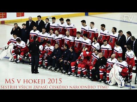 MS v hokeji 2015 | Sestřih všech zápasů českého národního týmu