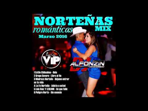 Norteñas Románticas MIX 2016 | Vol. 14 - DjAlfonzin