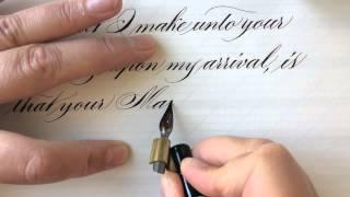 Robert Devereux to Queen Elisabeth I (Letter writing in Madarasz Script)