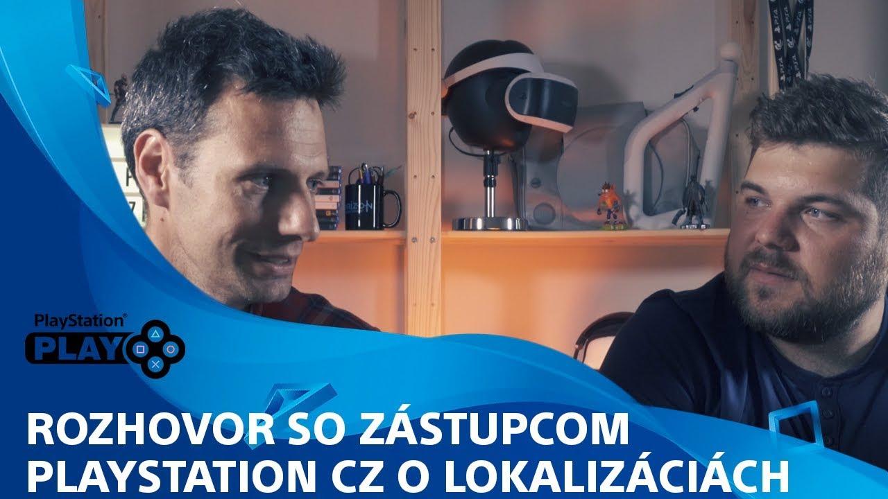 Rozhovor: Petr Škaloud z PlayStation CZ o českých lokalizáciách