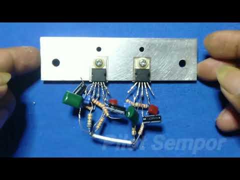Amplifier Btl Tda 2050 35w_pilot Sempor